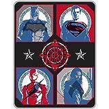Justice League Movie 'Team Assembled' Kids Bedding Throw 46 x 60