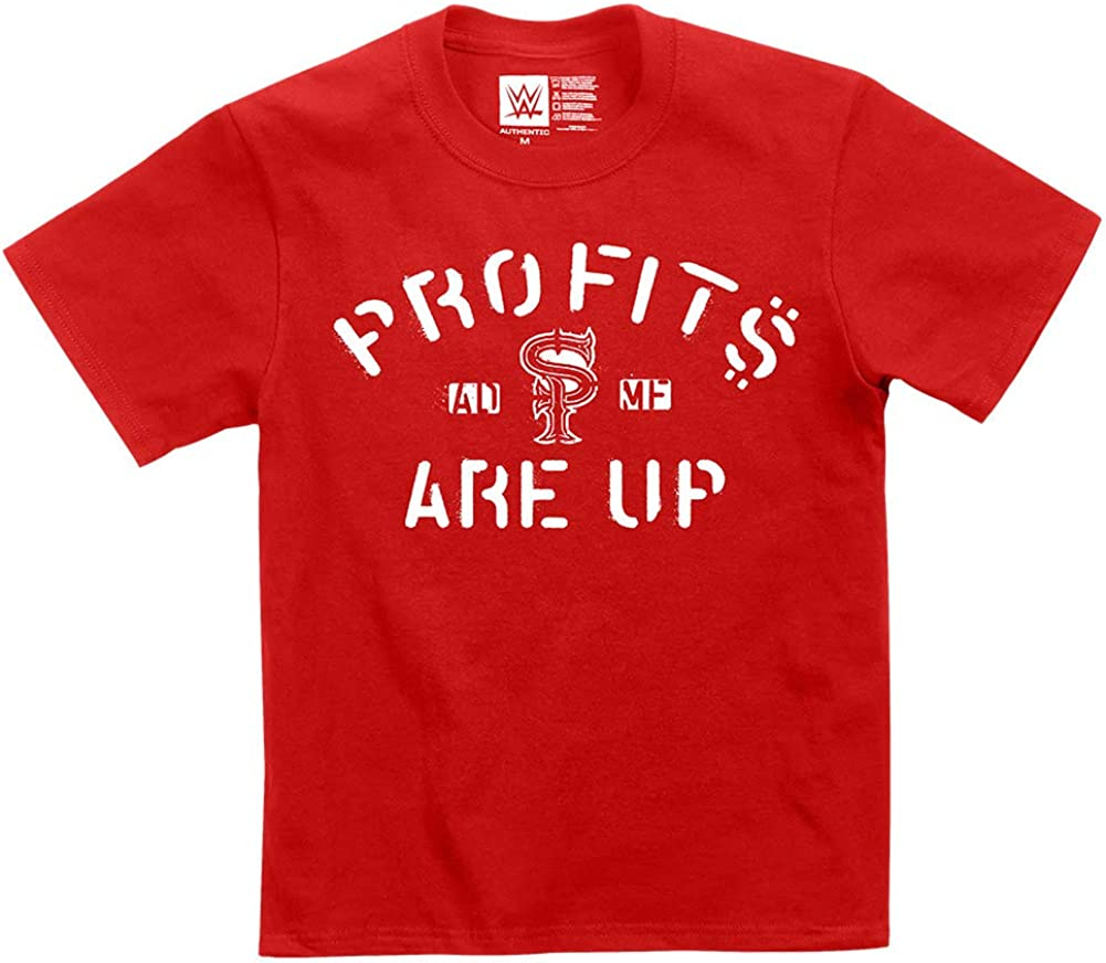 WWE Street Profits Profits are Up Youth Authentic T-Shirt