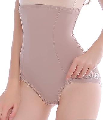 fe8c92da88c Women Tummy Firm Control Waist Shapewear Panties Girdle Underwear Body  Shapers High Waisted Shape Wear Shaping Brief at Amazon Women's Clothing  store: