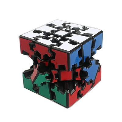 3D Gear Cube EasyGame Shifting Speed Cubing - Popular Magic Cube Variant: Juguetes y juegos