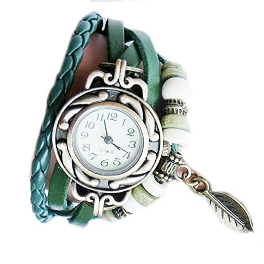 Sannysis Nuevos mujeres al por mayor de la mariposa de la pulsera del reloj (Colgante
