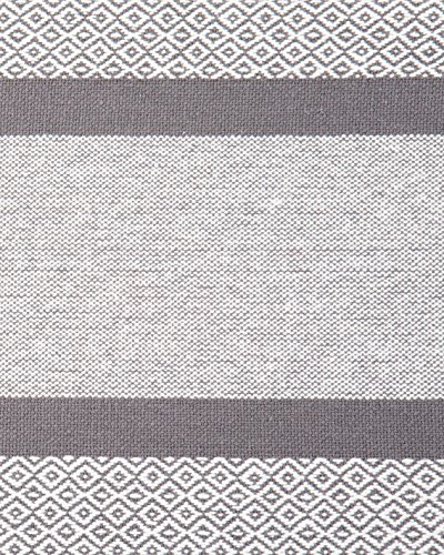 Sticky Toffee Cotton Woven Placemat Set with Fringe, Traditional Diamond, 4 Pack Placemats, Gray, 14 in x 19 in - SET OF FOUR VALUE PACK: Set of four placemats measuring 14 in x 19 in. 14 in x 19 in. Hand knotted fringes add 1.5 in to 2 in on each end. COORDINATING TABLE RUNNER: Pair with our matching table runner to create the foundation for a welcoming dining experience. 100% COTTON: Durable placemats made of cotton woven together in a diamond pattern with a subtle fringe on each end. - placemats, kitchen-dining-room-table-linens, kitchen-dining-room - 612LF6lM8pL -