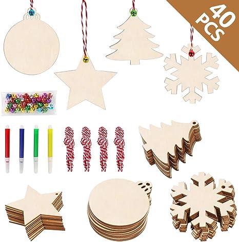 Laser Cut Wooden Wooden Slice Mother/'s Day Hanging Ornament Wood DIY Crafts
