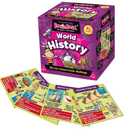 Brainbox World History Ten Minute Brain Challenge Game