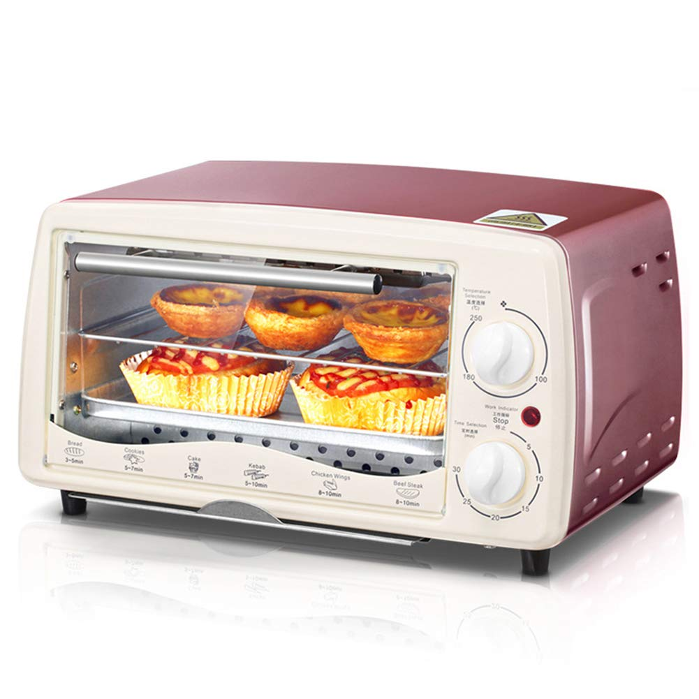 JINRU Multi-Function Electric Oven Home Baking Small Oven Temperature Control Cake-Rose Gold