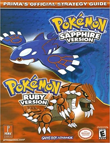 Pokemon Fire Red Guide Book Prima Pdf