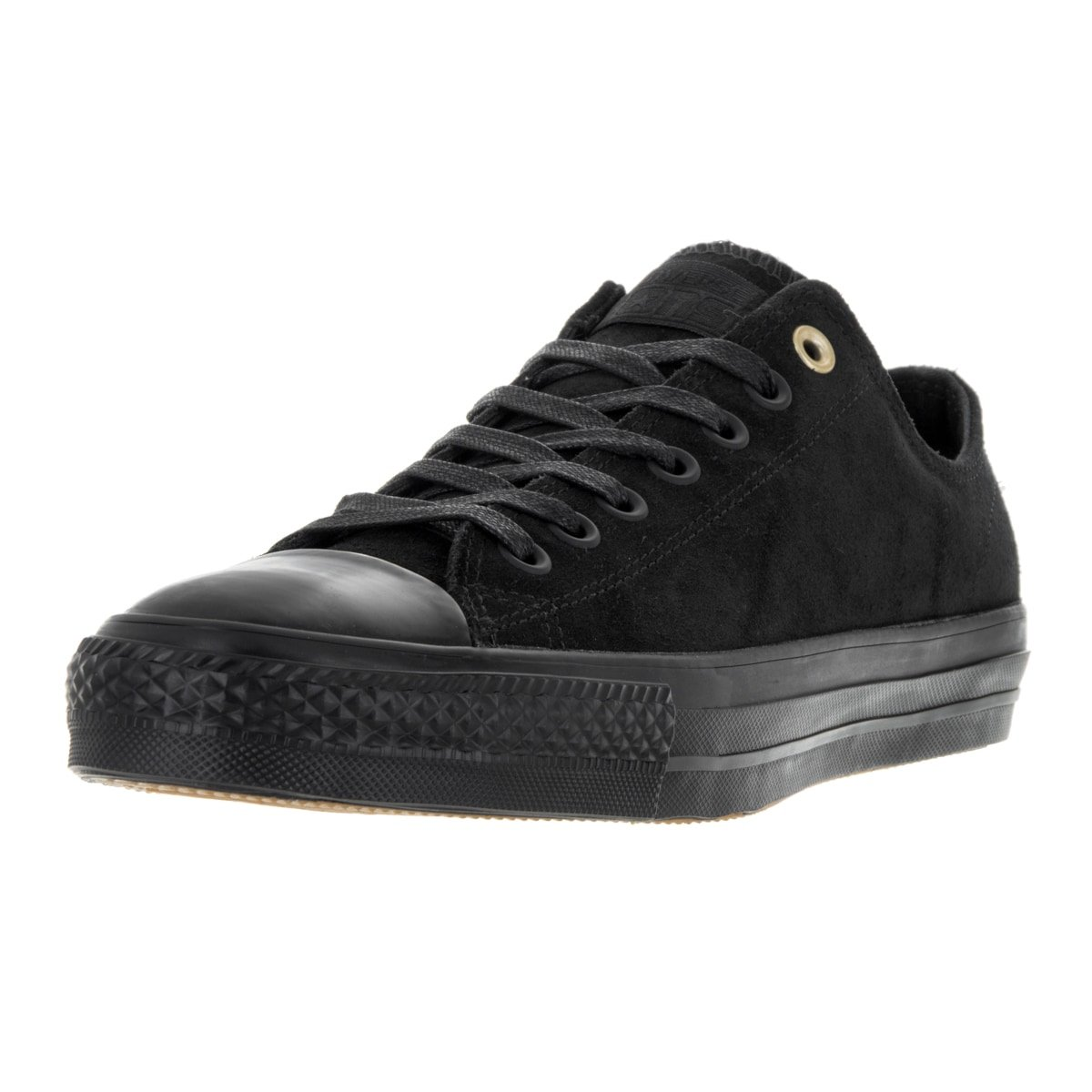 Converse Unisex One Star Pro Ox Black/Black/Storm Wind Skate Shoe 12