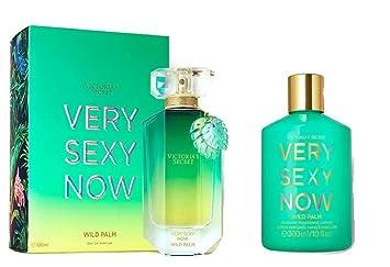 b1d7fcb0eb2 Victoria s Secret Very Sexy Now Wild Palm Bundle Cooling Fragrance Lotion  and Eau De Parfum