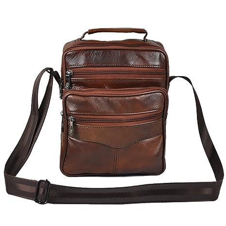 d5c73fa16 Bolso de viaje, Realmark, de piel auténtica, para hombre, de viaje o ...