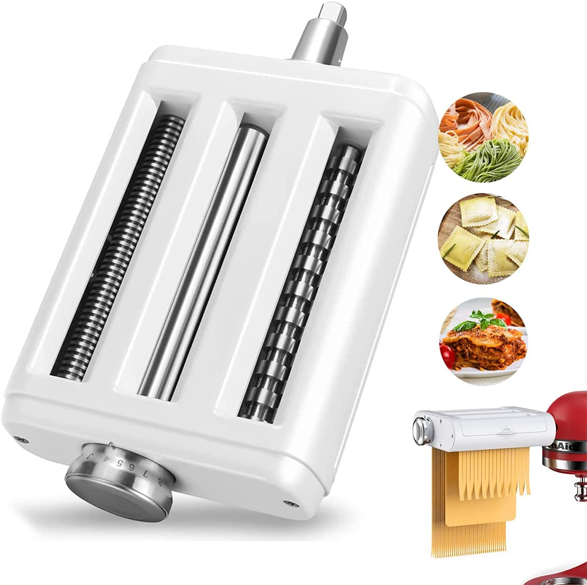 lowest price Pasta Maker Attachment for All Noodle Mixers KitchenAid 3 Limited time sale