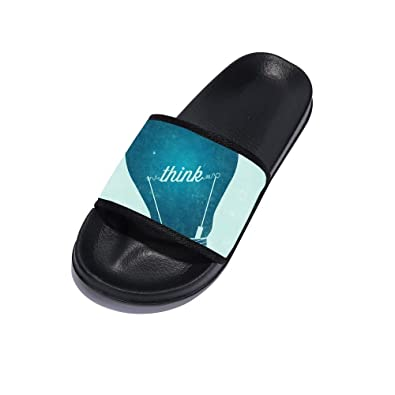 3a18607c8844 Image Unavailable. Image not available for. Color  Sandals for Men Anti-Slip  Bath Slippers Shower Shoes Indoor Floor Slipper Stylish Beach Sandals