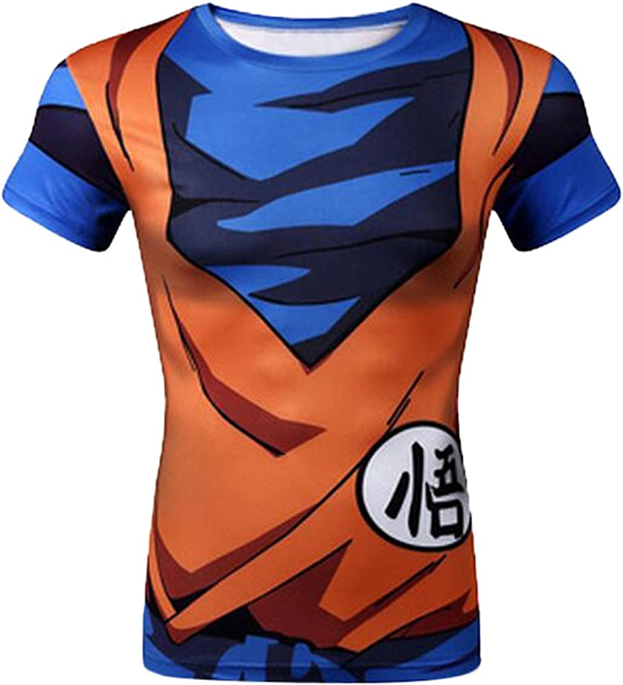 Brinny, camiseta manga corta, diseño 3D Dragon Ball Z, diseño Goku ...