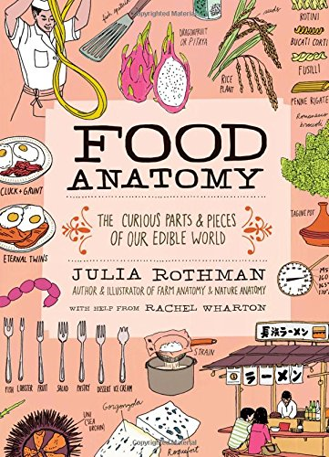 Food Anatomy  The Curious Parts   Pieces Of Our Edible World  Julia Rothman