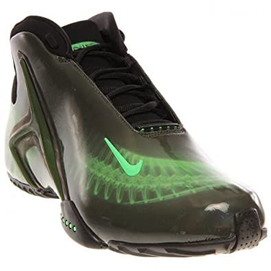 55a68caf7a5e Nike Men s Zoom Hyperflight PRM Basketball Shoes-Black Poison Green-9   Apparel