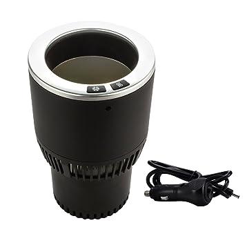 easefollow portátil Auto coche taza soporte, enfriador de latas de bebidas y calefacción, se