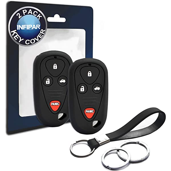 OUCG8D-387H-A KPT12911 KeylessOption Just the Case Keyless Entry Remote Control Car Key Fob Shell Replacement for E4EG8D-444H-A