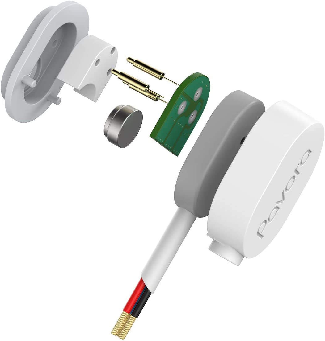Arlo Pro 3 Power Cable and Adapter Weatherproof Outdoor or Indoor cable Compatible Arlo Ultra and Arlo Pro 3, Magnetic Charging Cable for Arlo Ultra 25ft//7.6M Arlo Ultra