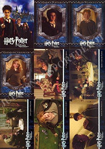 (HARRY POTTER AND THE PRISONER OF AZKABAN MOVIE 2004 HOLOFOIL BASE CARD SET OF 90)