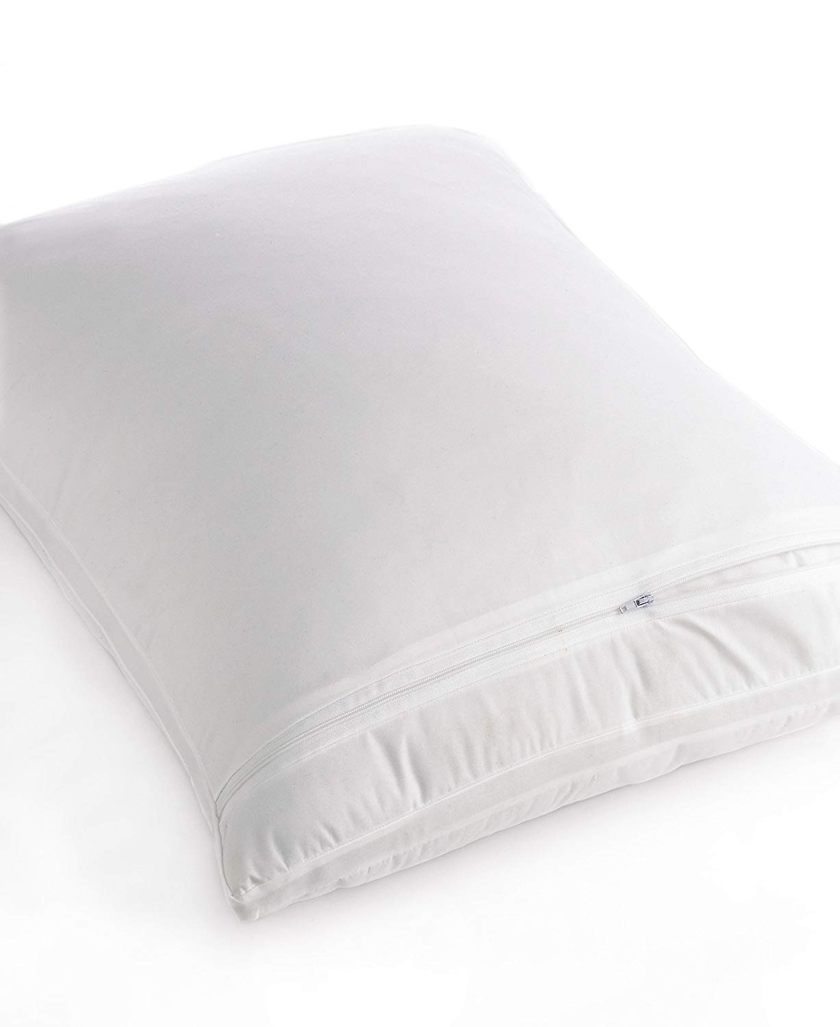 Martha Stewart Collection Bedding, Bed Bug Standard/Queen Pillow Protector White