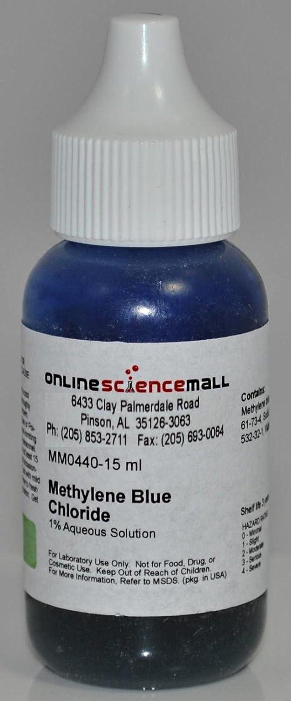 Methylene Blue, 1% pH Indicator Solution Chemical 15 ml: Ph Test ...