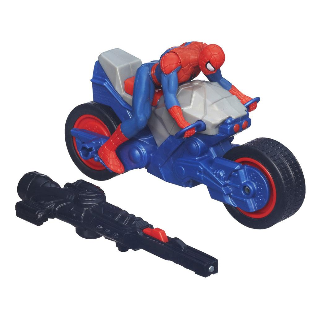 Spider-Man Marvel Ultimate Blast 'N Go Spider Cycle ...