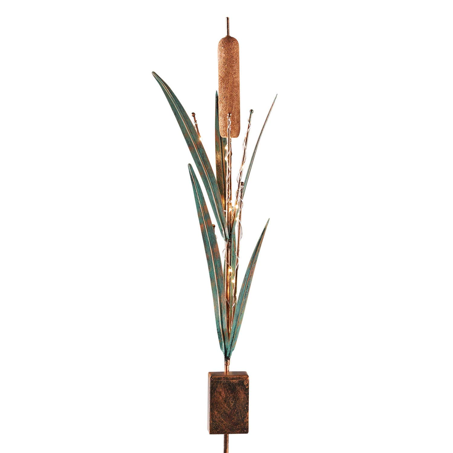 Grasslands Road Cattail Light-Up Stake