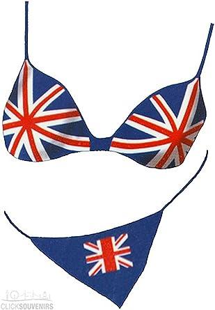 Ladies Union Jack Thongs