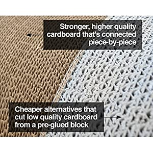 PetFusion Ultimate Cat Scratcher Lounge. [Superior Cardboard & Construction]. Beware 'cheaper copycats' with 'unverified…