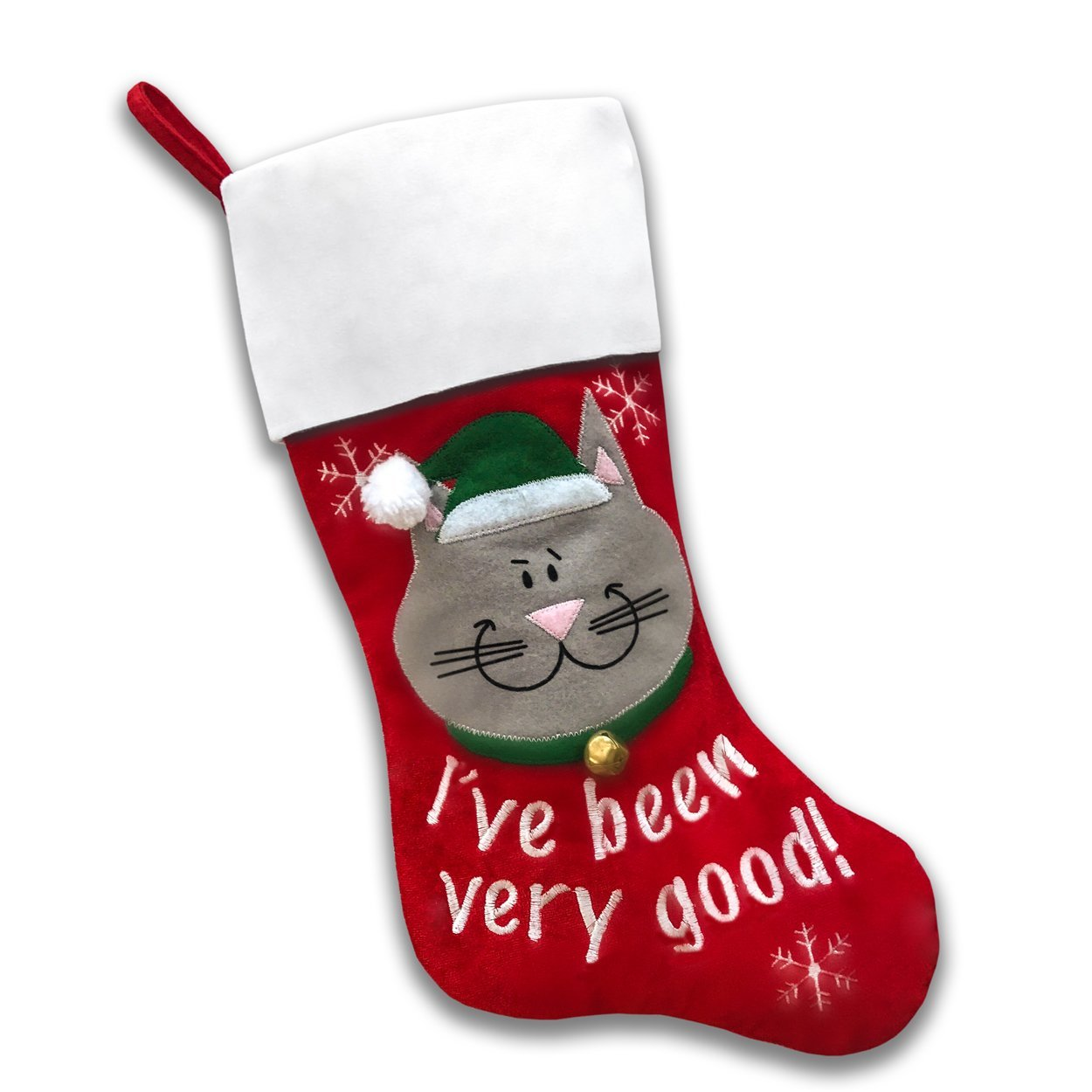 Pet Christmas Stockings (Good Cat)