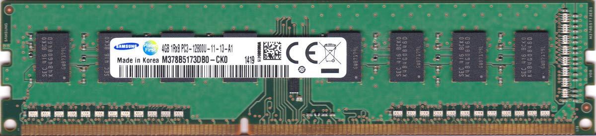 Memoria Ram 4gb Samsung Pc3-12800u 1600mhz Ddr3 Sdram M378b5173db0-ck0