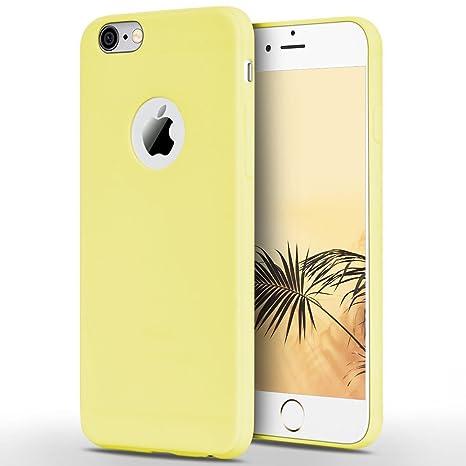 f205c33d120 Anfire Funda iPhone 6 / 6S Plus, Carcasa Silicona Gel TPU Ultra Delgado Suave  Mate