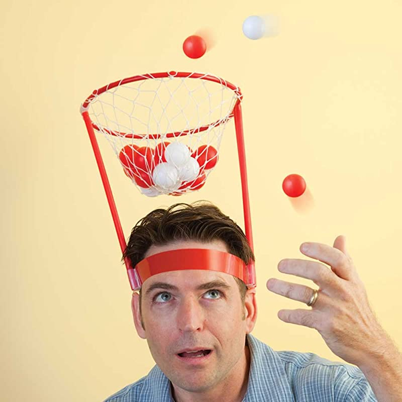 Basket Head - Portable Basketball Hoop - Bits and Pieces