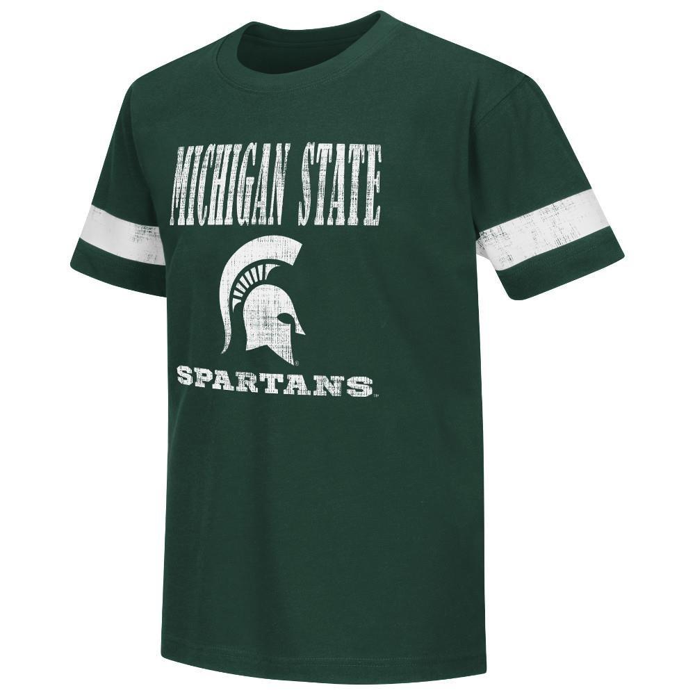 日本最大級 ユースNCAA Michigan State B01AO3UNRM Large State Spartans半袖Tシャツチームカラー Large B01AO3UNRM, カシママチ:62b83f9e --- a0267596.xsph.ru