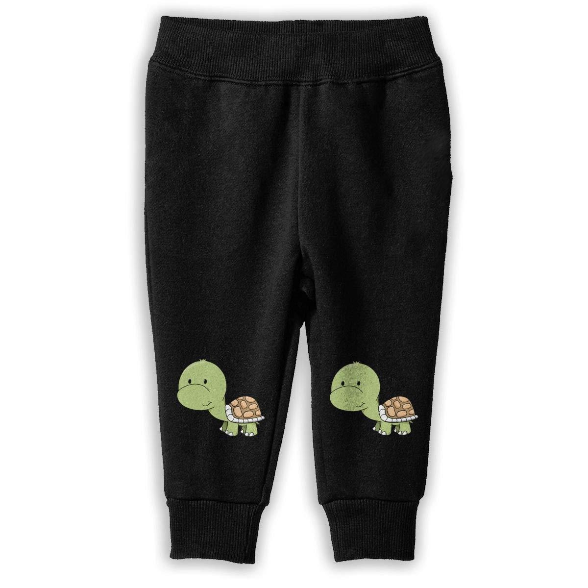 lu fangfangc Kids /& Toddler Turtle Joggers Cotton Sweatpants Fleece Pants for 2-6T