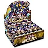 Yugioh Phantom Rage English TCG 1st Edition Booster Box - 24 Packs of 9 Cards Each