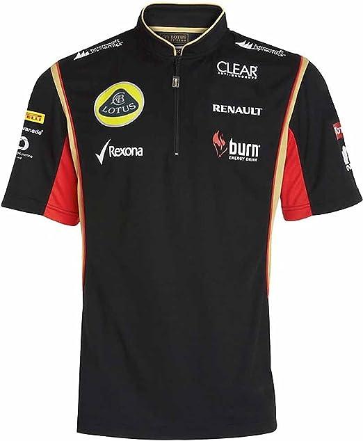Camisa polo de Fórmula Uno Lotus F1 Team con cierre al frente ...