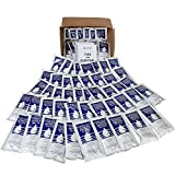 S.O.S. Emergency Water 5 year shelf life - 62 Individual 4.22 Oz Packets (With Tips)