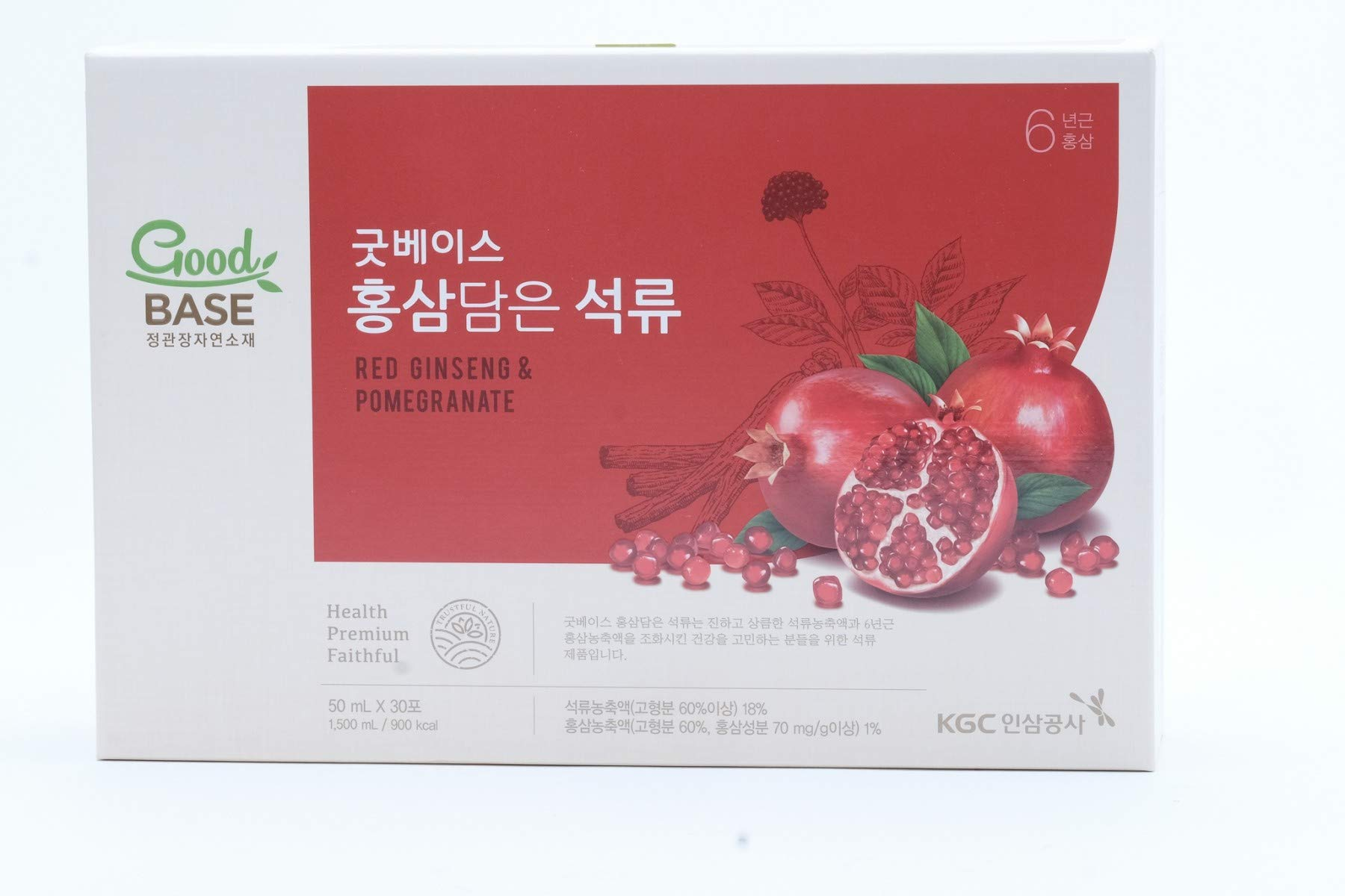 Cheong Kwan Jang Good Base Red Ginseng Pomegranate Healthy Drink (50 ml x 30 Pouch)