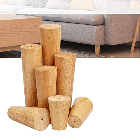 Lionina - Juego de 4 Patas para sofá de 8 cm, 10 C, 15 cm y 25