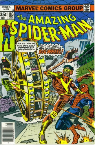 The Amazing Spider-Man #183 : And Where the Big Wheel Stops Nobody Knows (Marvel Comics)
