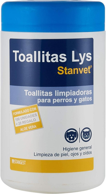 Stangest Bote de 120 Toallitas Higiénicas para Ojos y Oidos