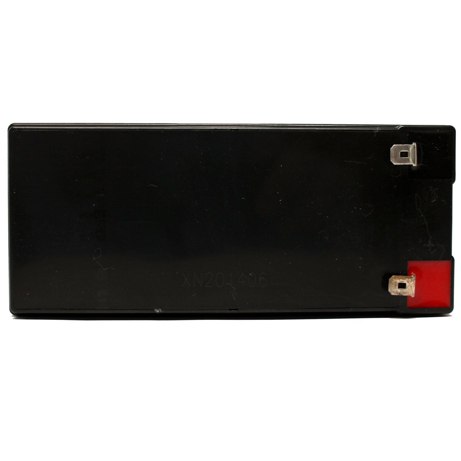 4x Pack - APC SMART-UPS 1500VA USB & SER SUA1500RMUS Battery - Replacement UB1270 Universal Sealed Lead Acid Battery (12V, 7Ah, 7000mAh, F1 Terminal, AGM, SLA) - Includes 8 F1 to F2 Terminal Adapters by UpStart Battery (Image #5)