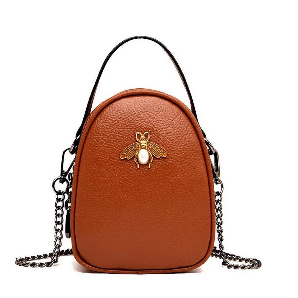 Yellow WeiPoot Women's Fashion Tote Bags Pu Ornamented Crossbody Bags,EGHBG182544