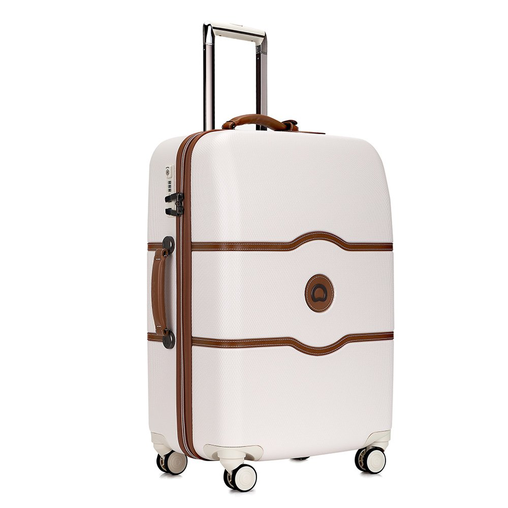 [デルセー]Delsey スーツケース CHATELET HARD + 超軽量 ストッパー機能付き TSAロック搭載 ハンガー 収納袋付き キャリーバッグ キャリーケース 旅行用品 B071X4774X アンゴラ(ホワイト) -112L アンゴラ(ホワイト) -112L