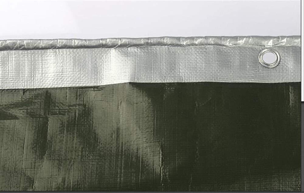 HRFHLHY Verdicken PE Kunststoff Poncho Sonnenschutz Plane Outdoor Tuch Schatten Tuch Outdoor Knopfloch Falten Isolationsfilm Tuch Anhänger Schuppen,6X6m 2b76a6