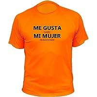 Camiseta de Caza, Me Gusta Cuando mi Mujer