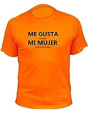 Camiseta de Caza, Me Gusta Cuando mi Mujer me Deja IR a Cazar