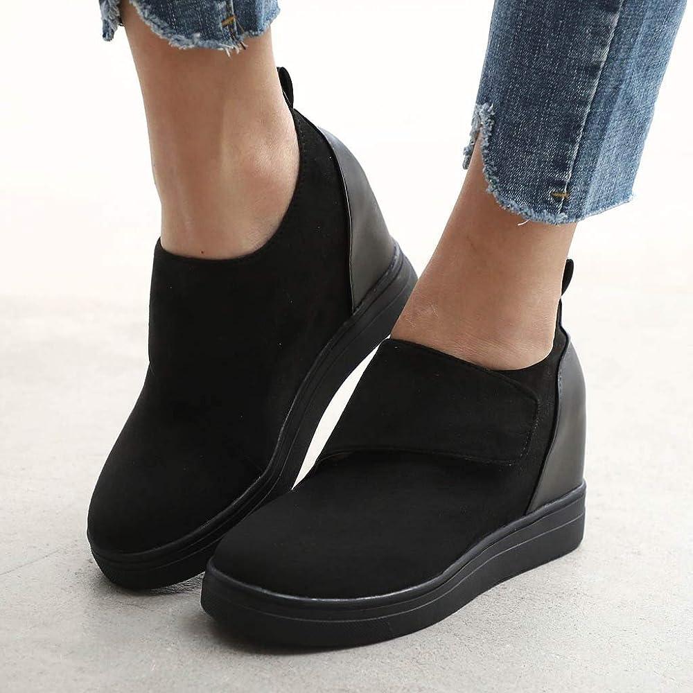 Walking Sneakers Ankle Booties
