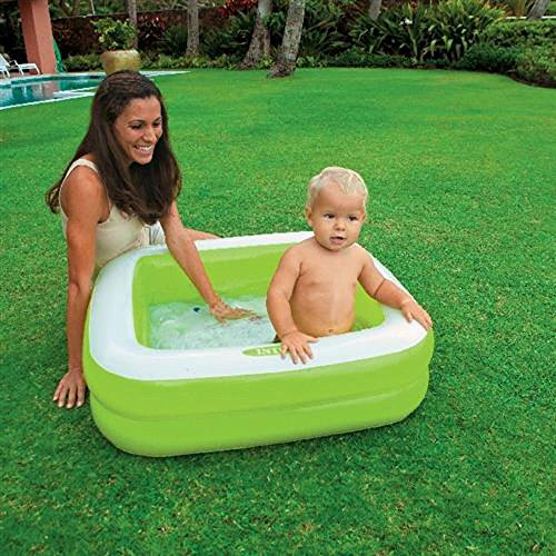 Intex Inflatable 15 Gallon Kids Baby Pool, Green, 33.5