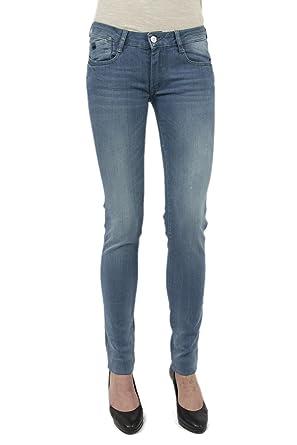 f107dbbfc3e50 Le Temps des Cerises Jeans power3 Bleu  Amazon.fr  Vêtements et ...